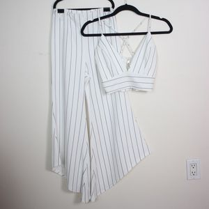 Other - Pinstriped Two Piece Set S